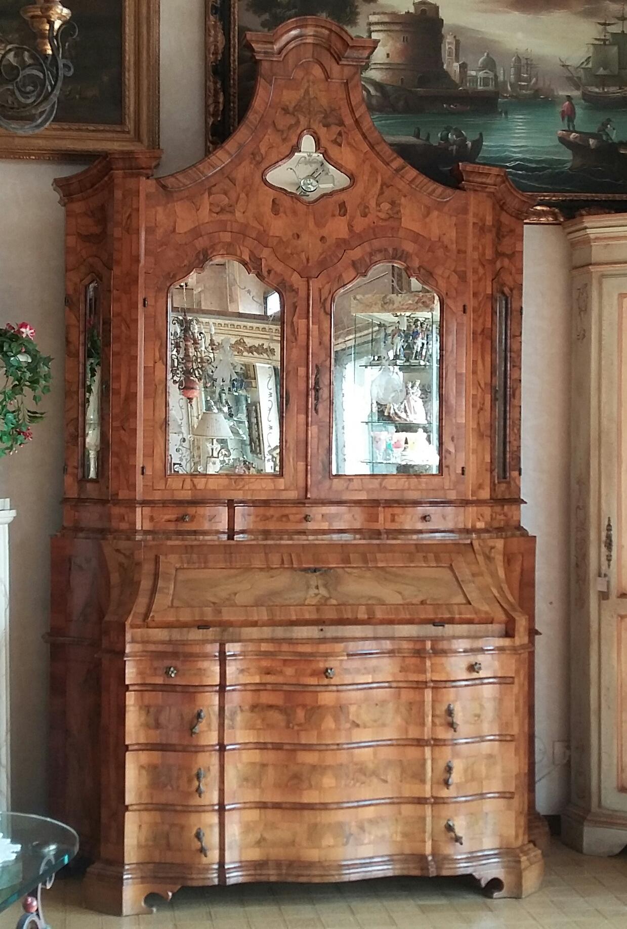 Trumeau in stile lombardo veneto artigianato veneto for Arredamento lombardo